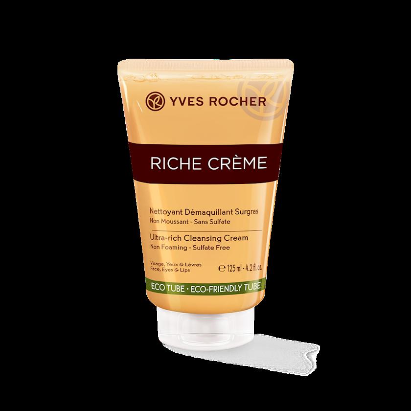 Yuyunmaq üçün krem-gel Yves Rocher qidarandırıcı 125 ml