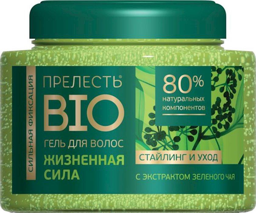 Saçlar üçün gel Прелесть Bio Həyat gücü 250 ml