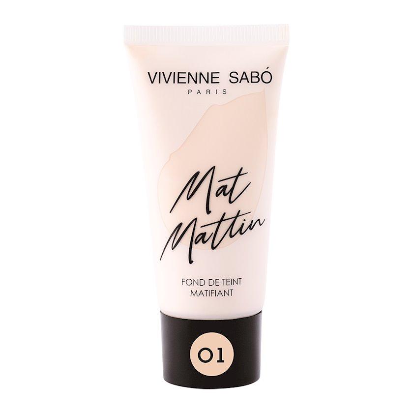 Tonal krem Vivienne Sabo Mat Mattin 01 25 ml