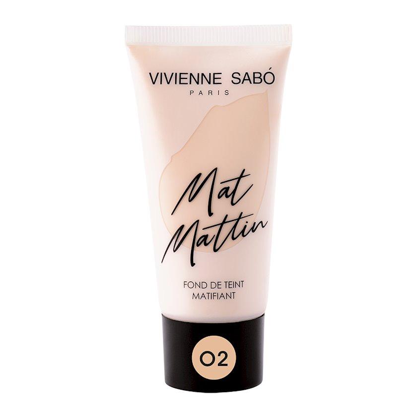 Tonal krem Vivienne Sabo Mat Mattin 02 25 ml