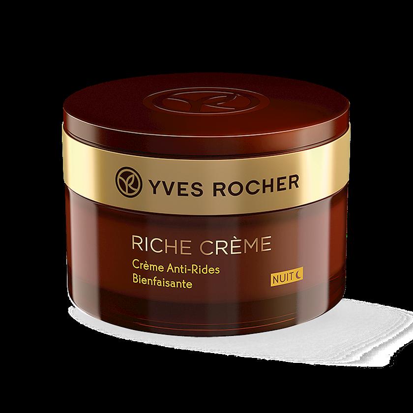 Gecə üz üçün kremi Yves Rocher Conforting Anti-Wrinkle Night Cream