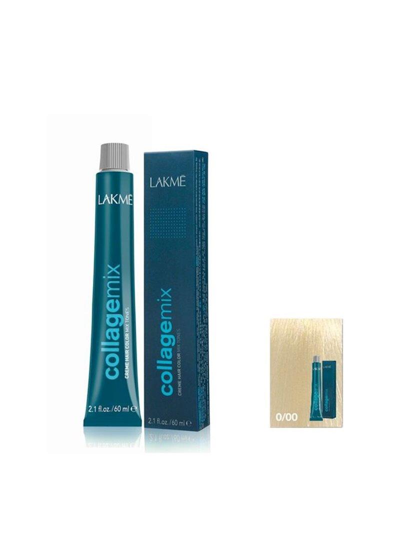 Saç krem-boyası Lakme CollaGemix 0/00 60 ml