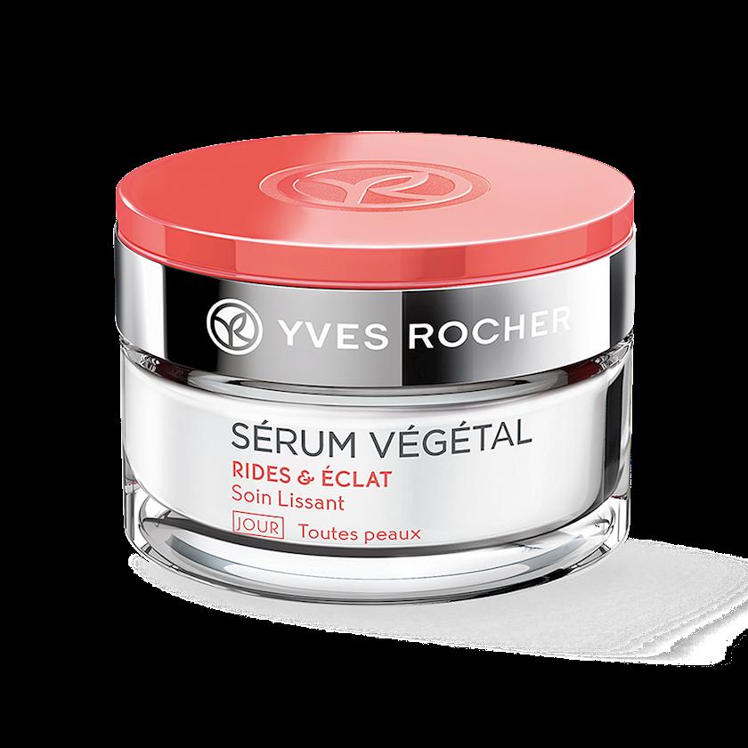 Gündüz üz kremi Yves Rocher Smoothing Day Care All skin types wrinkles radiance 50 ml