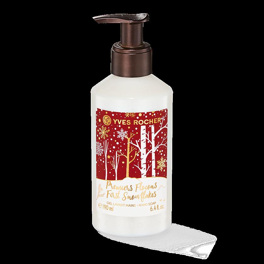Maye sabun Yves Rocher Liquid Hand Soap First Snowflakes Christmas Collection 190 ml