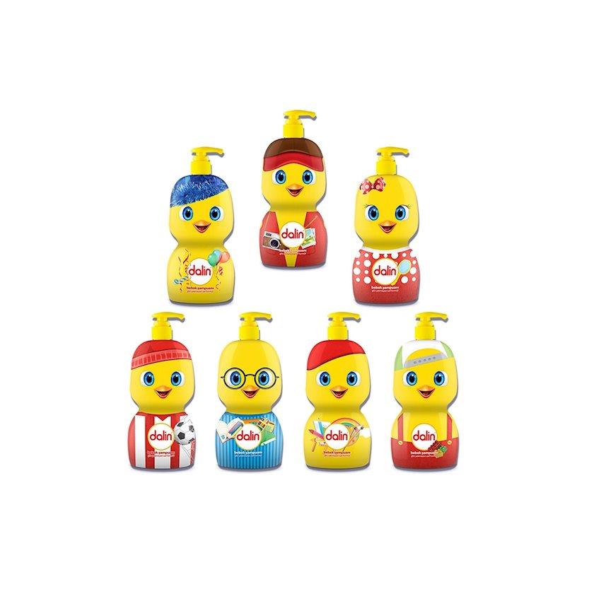 Uşaq şampunu Dalin pompa ilə 650 ml