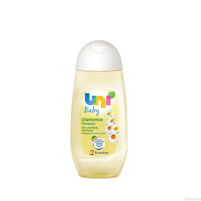 Uşaq şampunu Uni Baby çobanyastığı ətirli 200 ml