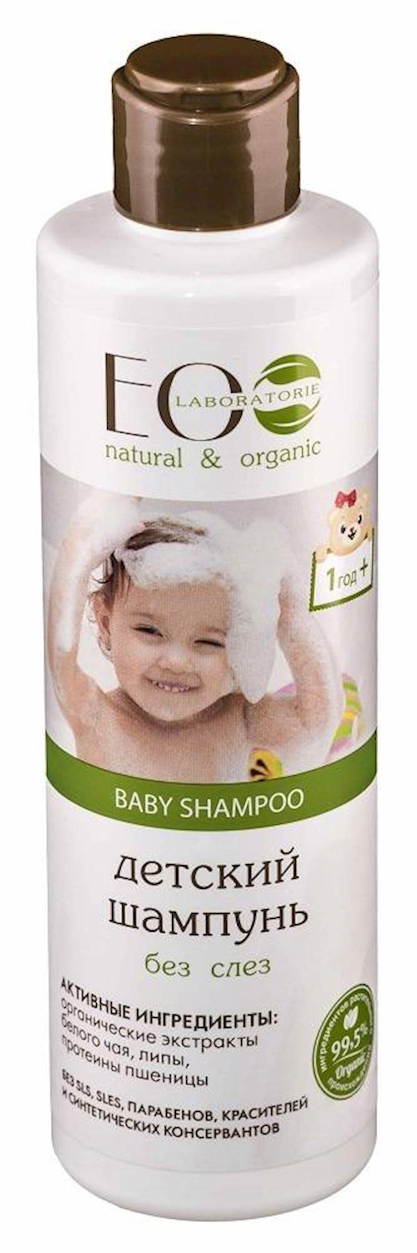 Uşaq şampunu Ecolab Göz yaşı olmadan 250 ml