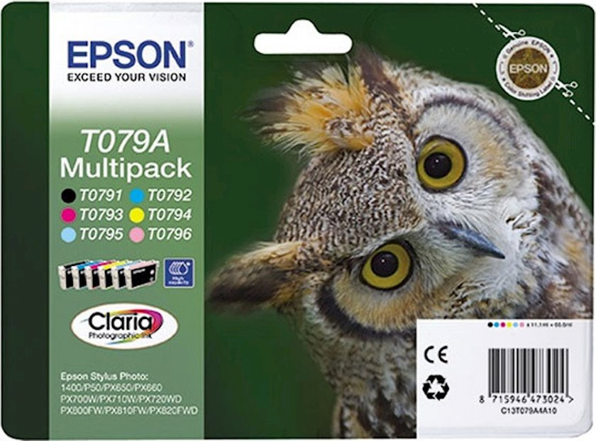 Kartric Epson T079A multipack