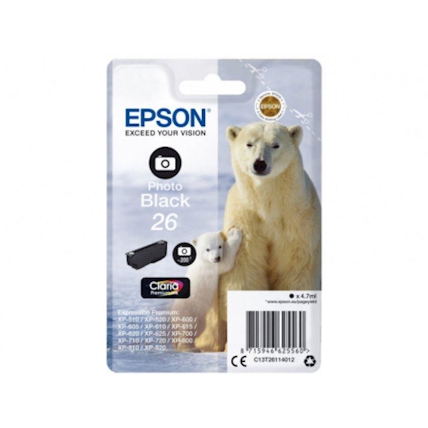 Kartric Epson I/C Photo Black XP600/7/8 new