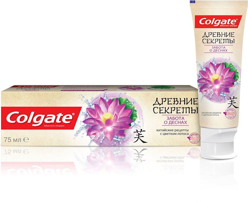 Diş məcunu Colgate Qədim sirlər diş əti qayğısı Lotus təbii ekstraktlar ilə 75 ml