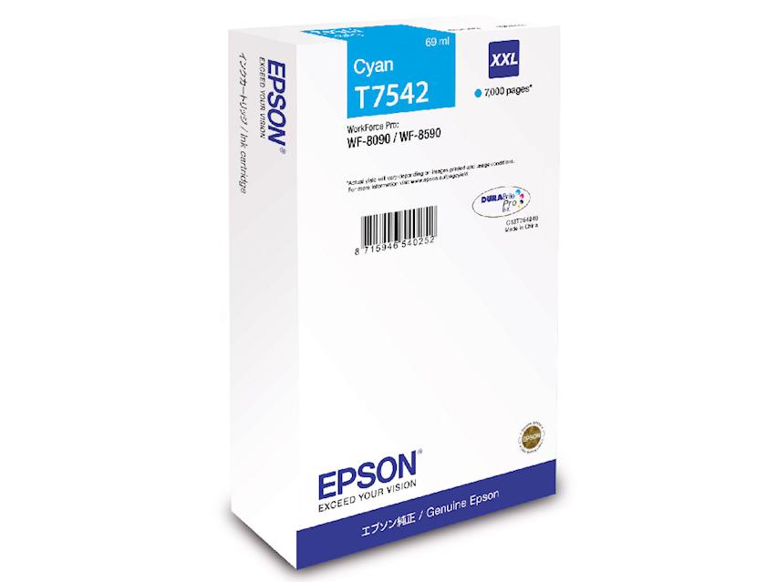 Kartric Epson WF-8090/WF-8590 Ink Cartridge XXL Cyan