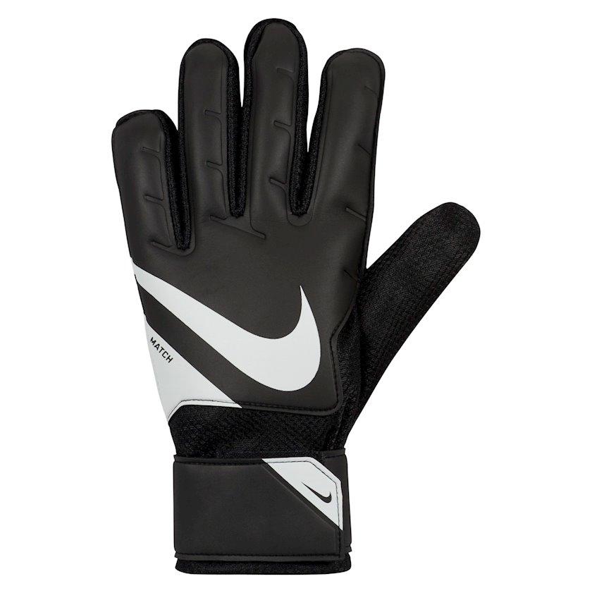 Qapıçı əlcəyi Nike Goalkeeper Match Gloves FA20, Kişilər üçün, Qara/ağ, Ölçü 10