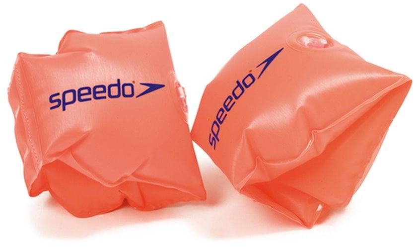 Üzmək üçün qolçaqlar Speedo Kids Inflatable Armbands, narıncı, ölçüsü 6-12
