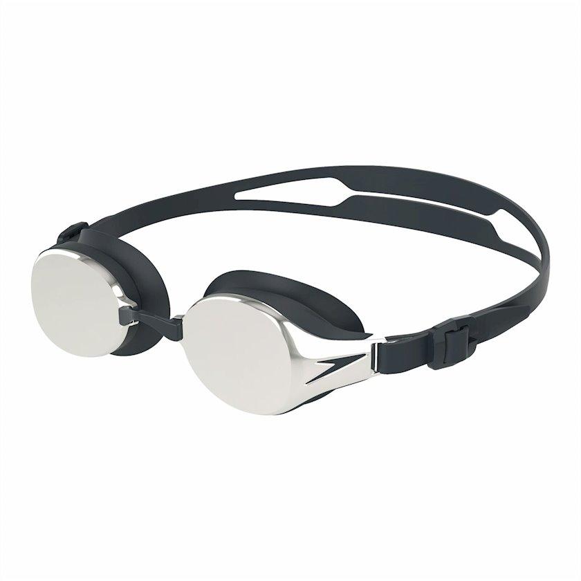 Üzgüçülük üçün eynək Speedo Hydropure Mirror, uniseks, qara/gümüşü