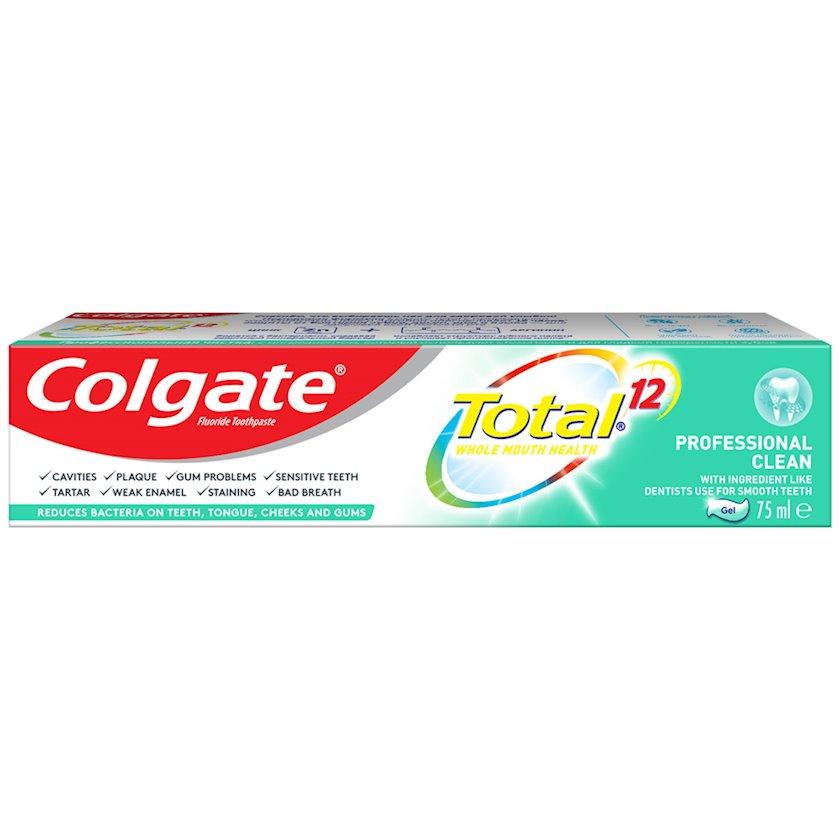 Diş məcunu Colgate Total 12 Peşəkar təmizləmə Antibakterial 75 ml