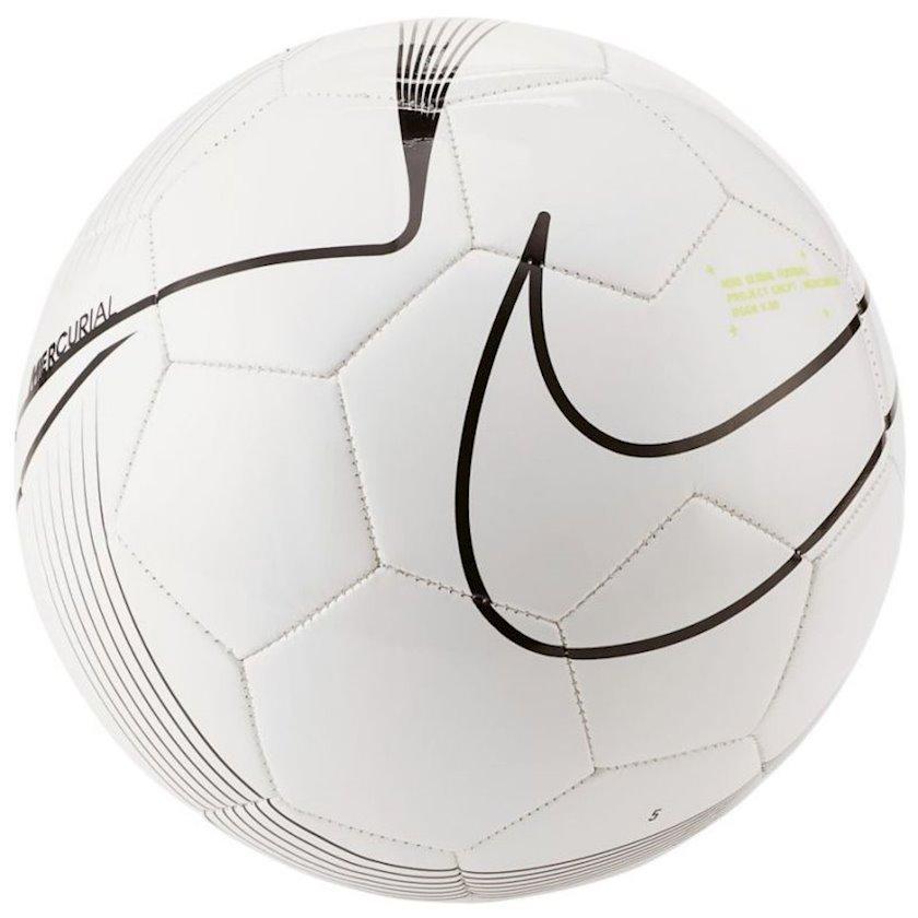 Futbol topu Nike Mercurial Fade, ağ/qara, ölçü 5