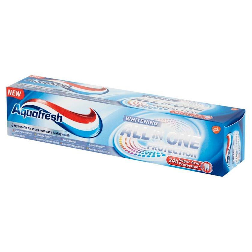 Diş məcunu Aquafresh Müdafiə Hamısı birində Ağardıcı 100 ml