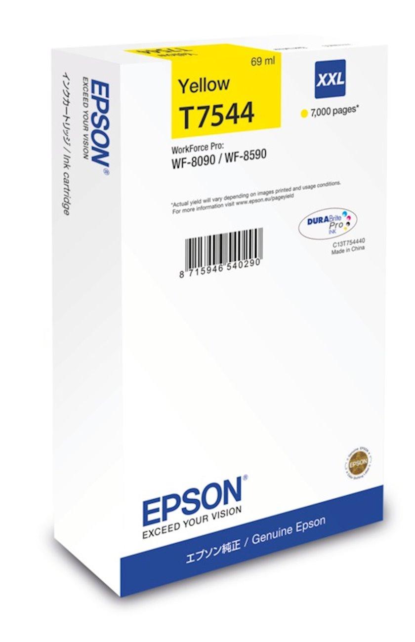 Kartric Epson WF-8090 / WF-8590 Ink Cartridge XXL Yellow