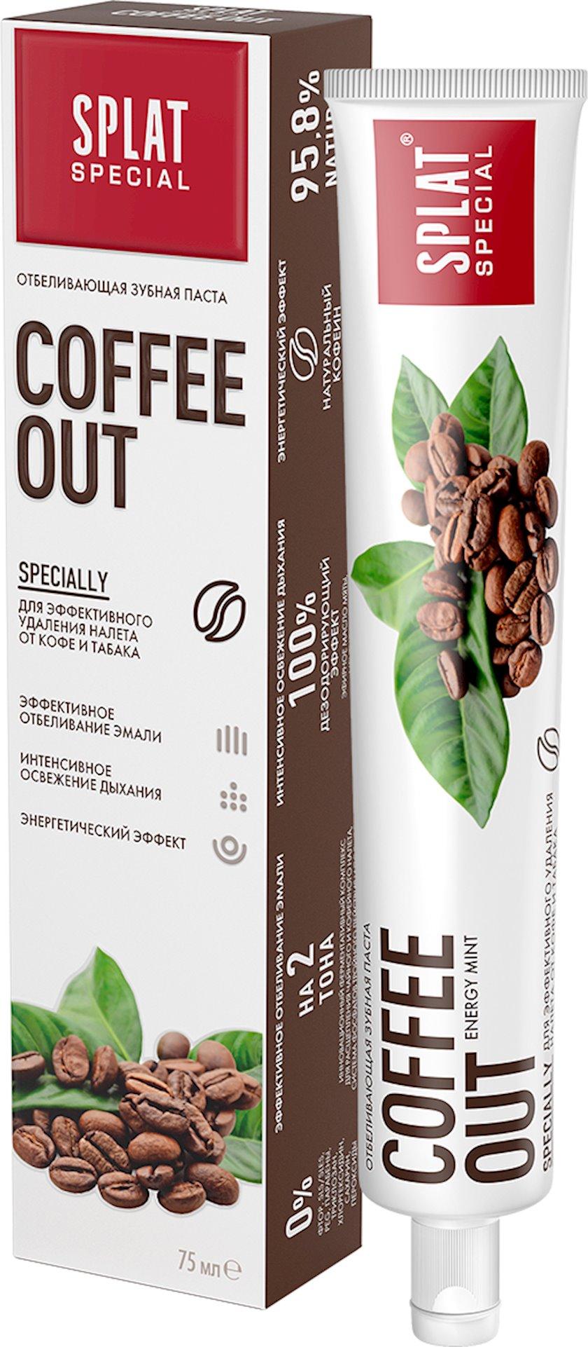 Diş məcunu Splat Special Coffee Out 75 ml