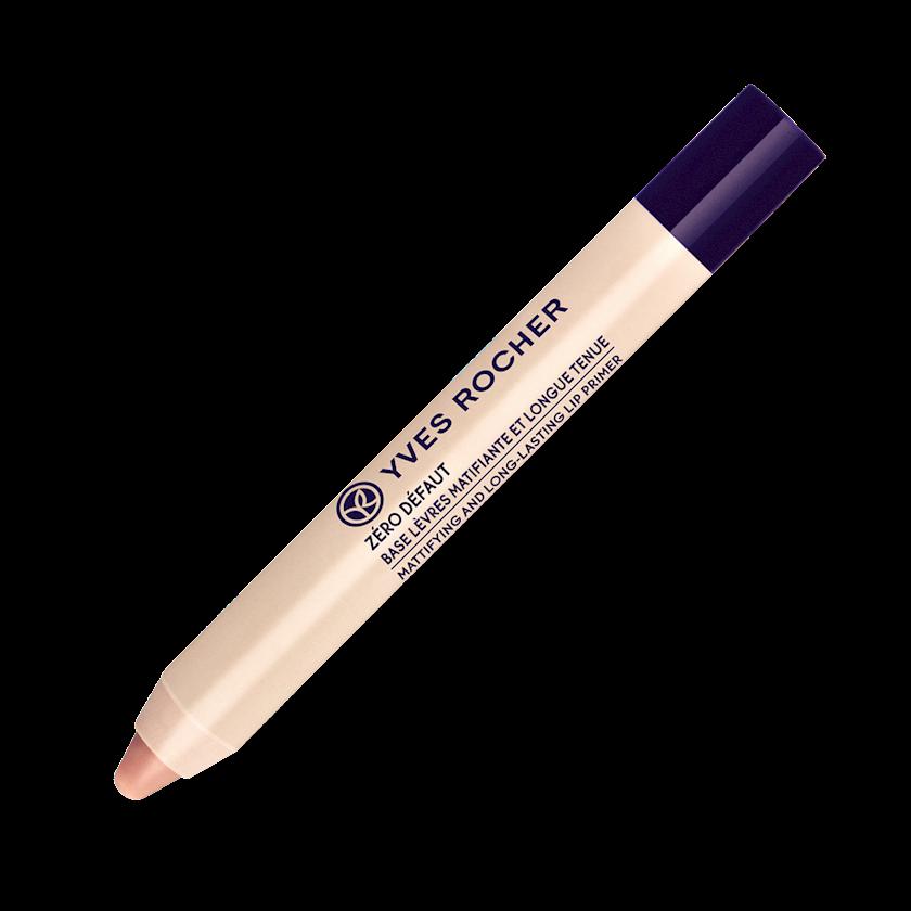Dodaq üçün praymer Yves Rocher Zéro défaut - Base lèvres matifiante et longue tenue