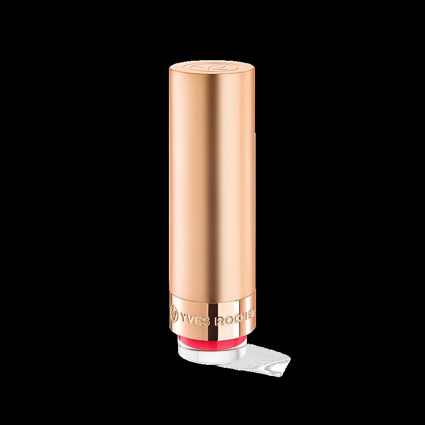 Dodaq üçün pomada Yves Rocher Matte lipstick Yves Rocher Grand Rouge 154. Rose Vif