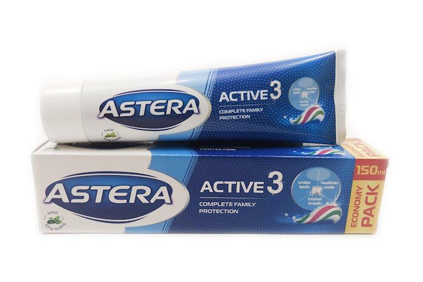 Diş məcunu Astera Active 3, 150 ml