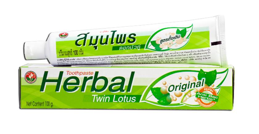 Diş məcunu Twin Lotus Herbal Original 100 q