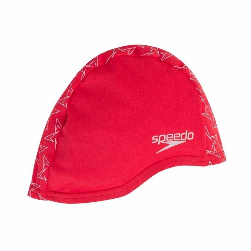 Üzgüçülük üçün papaq Speedo Boomstar Endurance + Cap Swimming Hat, uniseks, qırmızı, universal ölçü