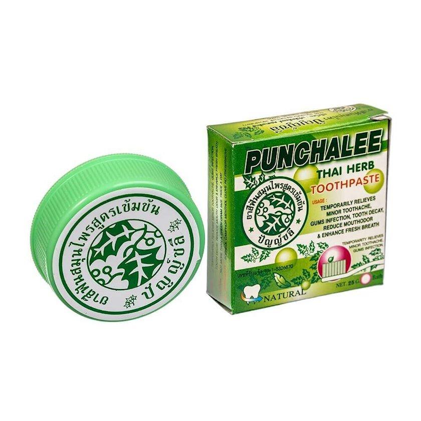 Diş məcunu Punchalee ağardıcı mentol ilə Herbal Toothpaste 25 q