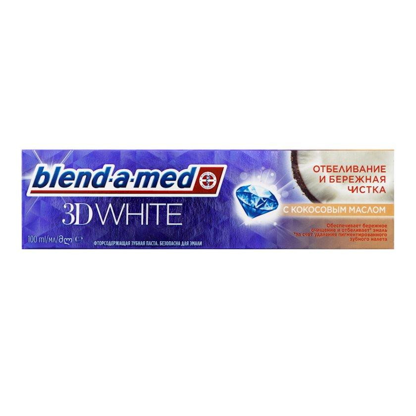 Diş məcunu Blend-a-med 3D White Səliqəli təmizləmə 100 ml