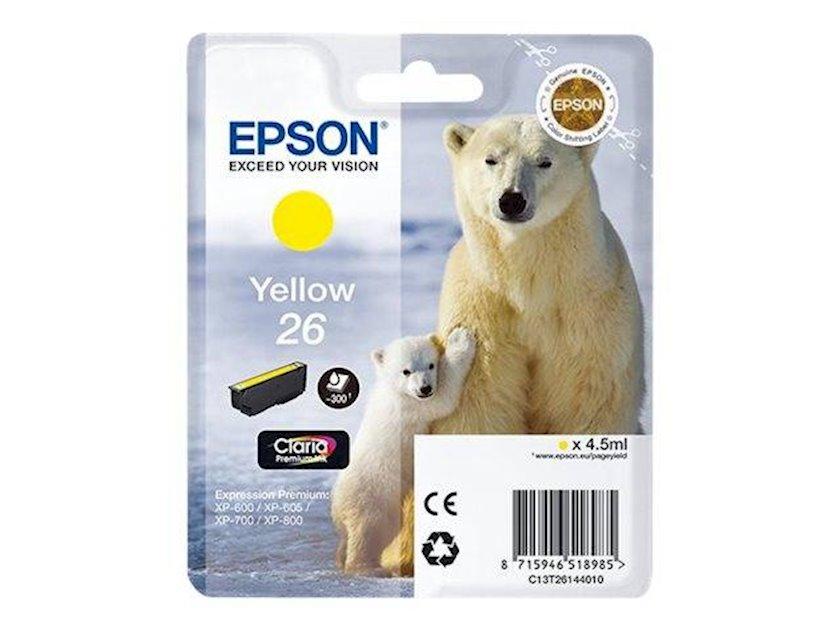 Kartric Epson I/C Yellow XP600/7/8