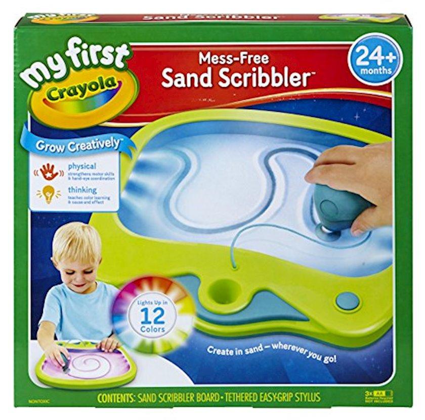 Qum üstündə rəsm çəkmək üçün tablet Crayola My First Sand Scribbler, 24 ay+