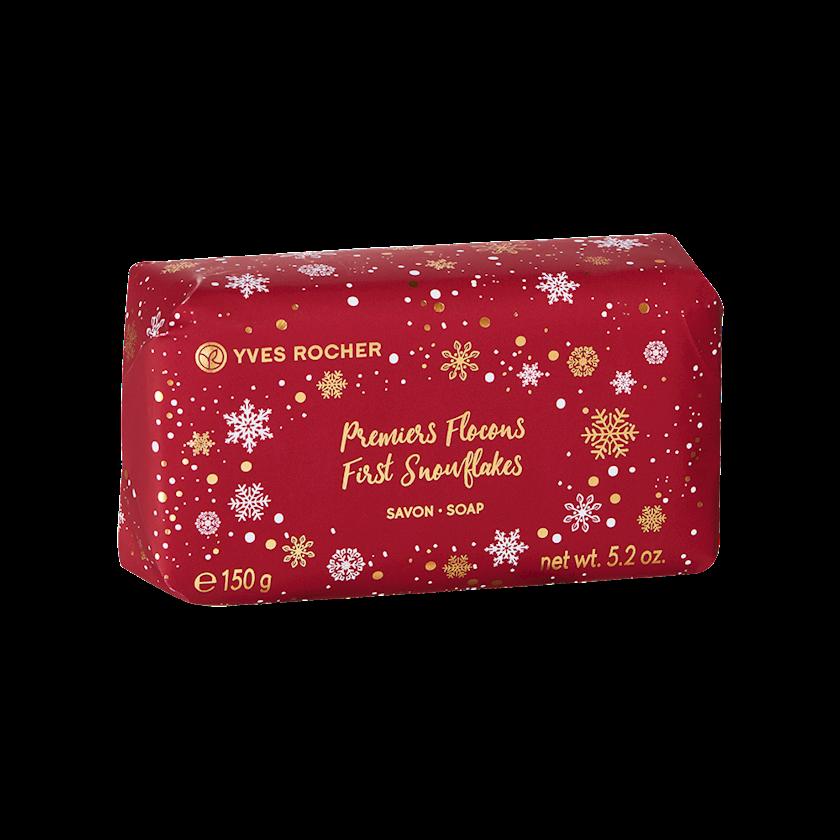 Sabun Milad kolleksiyasından Yves Rocher soap first snowflakes