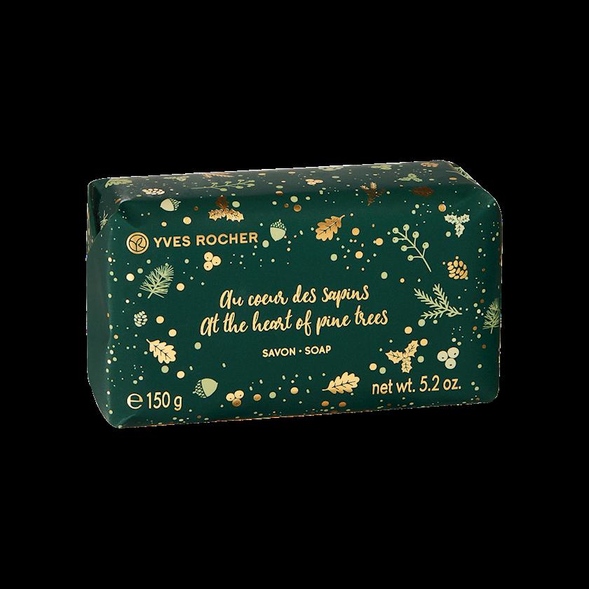 Sabun şam ağacın ətiriylə Yves Rocher soap at the heart of the pine trees