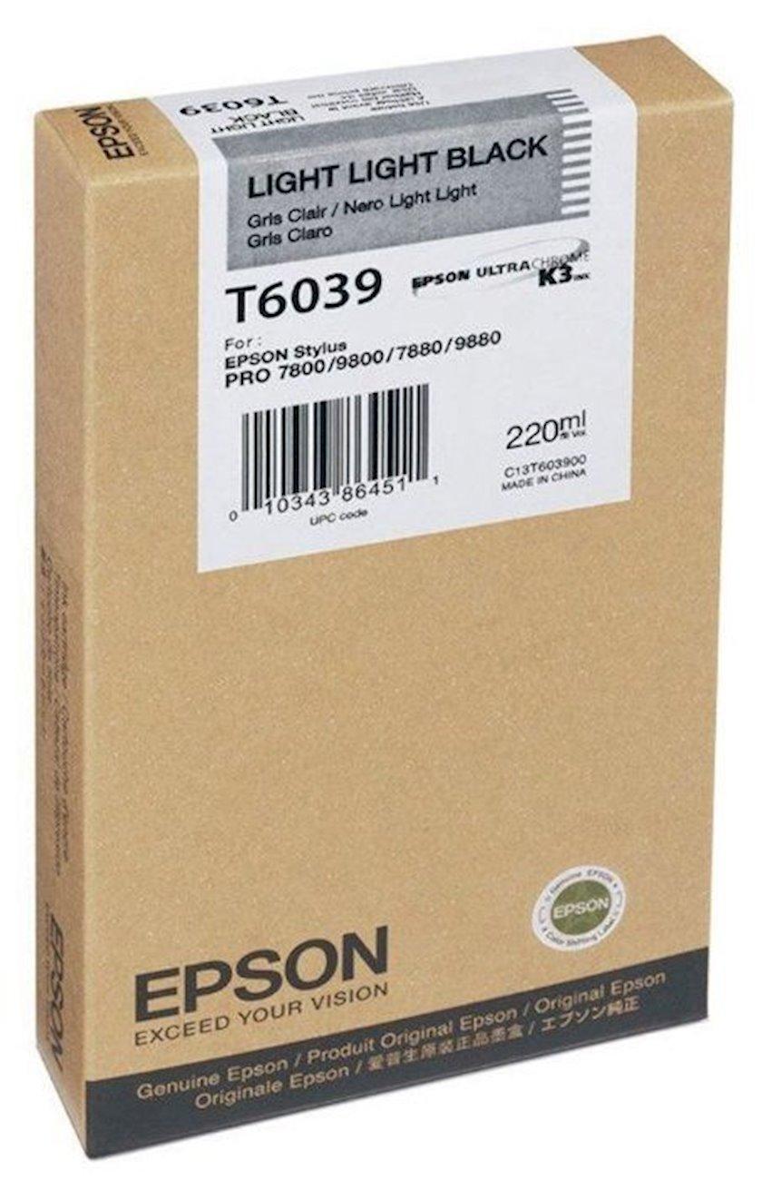 Kartric Epson T6039 Light Light Black