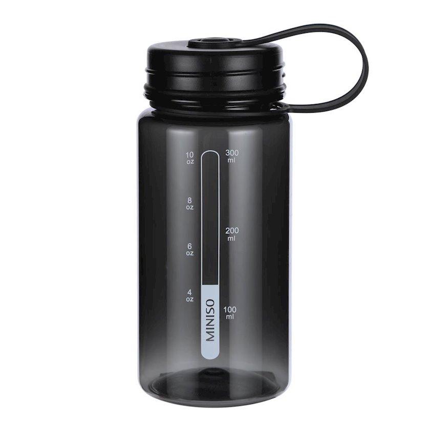 Butulka Miniso Sports Tritan water bottle, 300 ml, qara