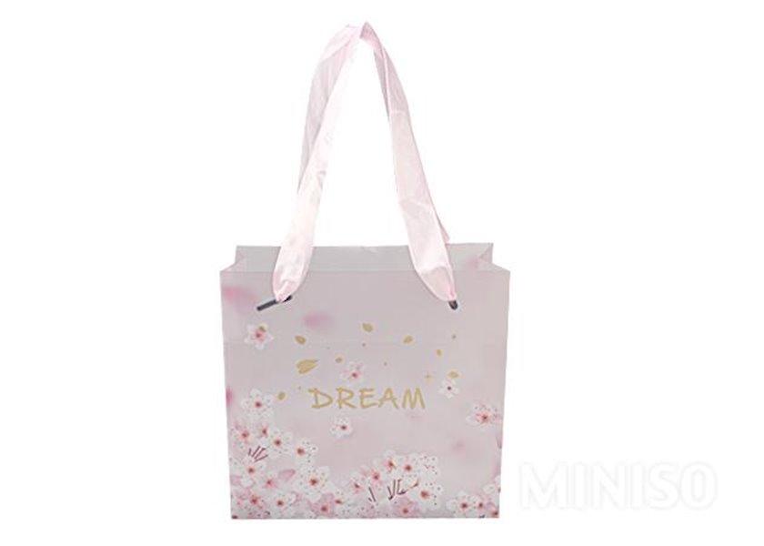 Hədiyyə çantası Miniso Tokyo Series Gift Bag,  çəhrayı, Çin