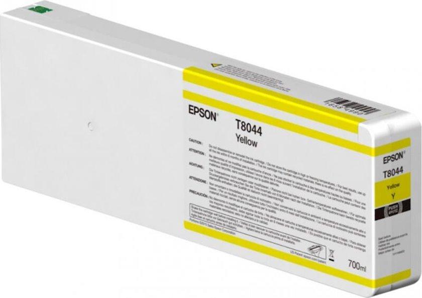 Kartric Epson Singlepack Yellow T804400 UltraChrome HDX/HD 700ml