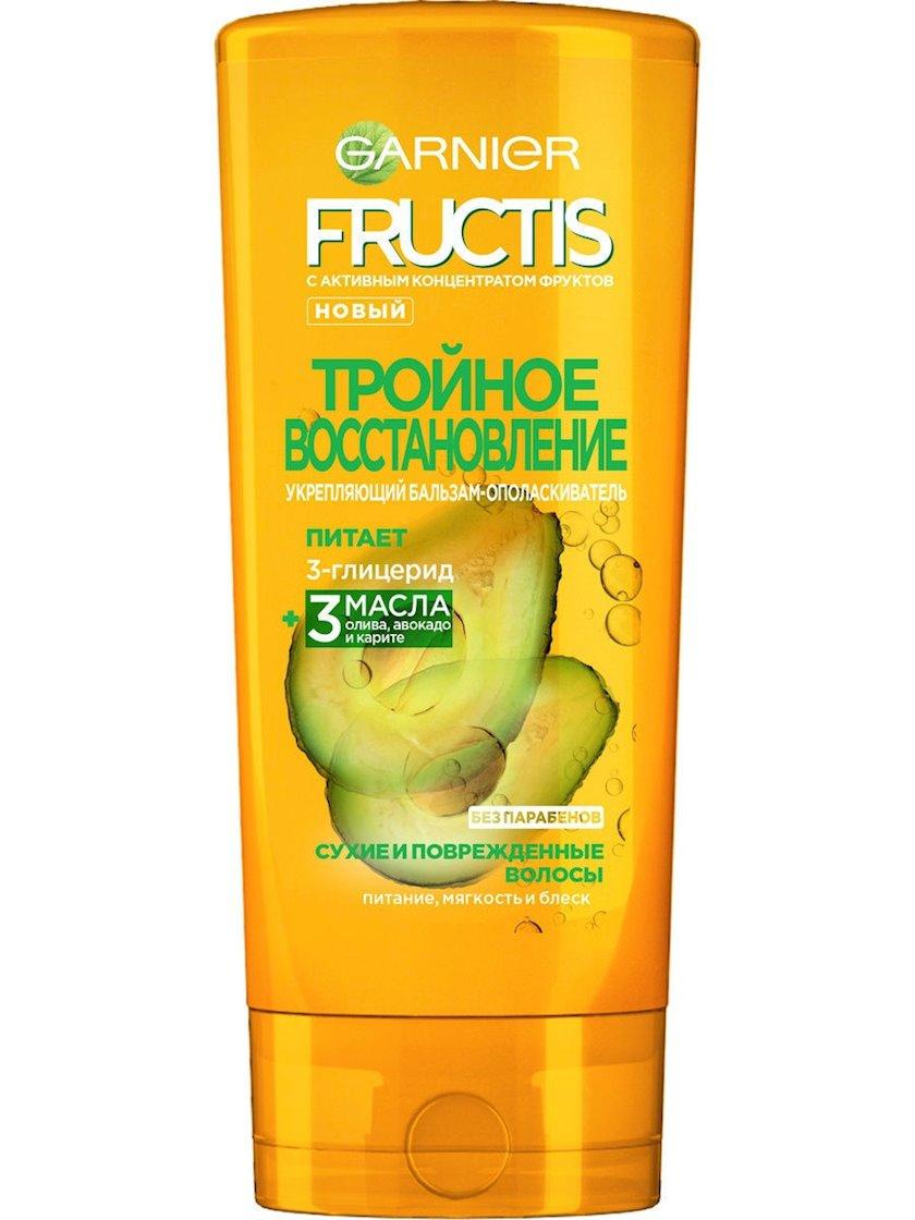 Balzam-yaxalayıcı Garnier Fructis saçlar üçün Üçqat Bərpa