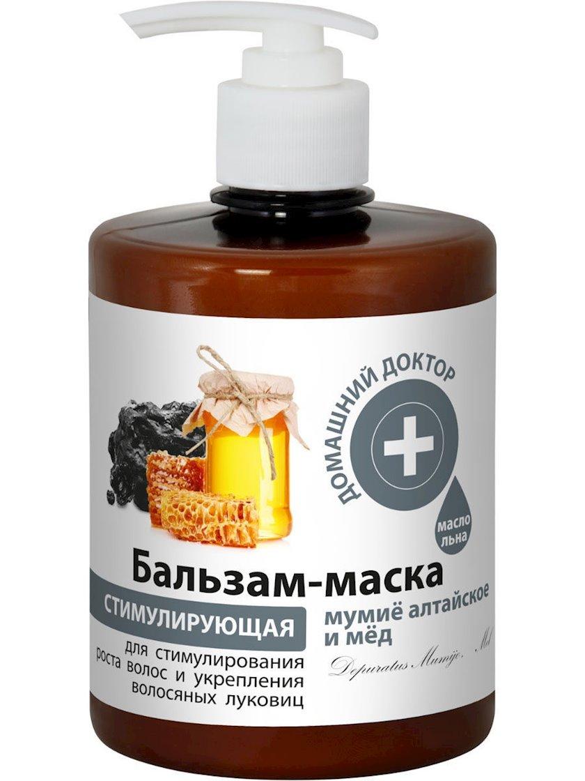 """Balzam-maska """"Домашний доктор"""" Altay mumiyası və bal"""