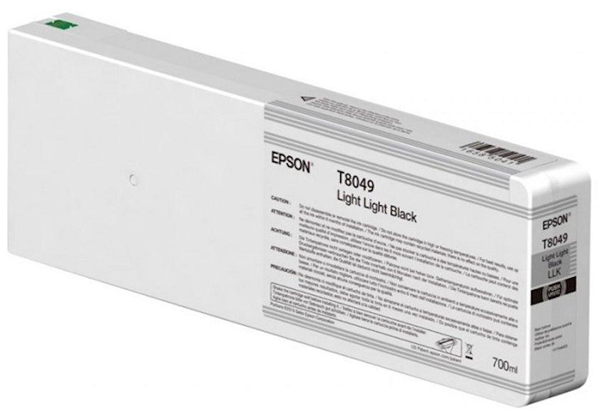 Kartric Epson Singlepack Light Light Black T804900 UltraChrome HDX/HD 700ml