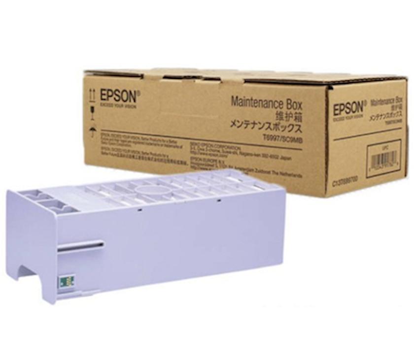 İşlənmiş mürəkkəb üçün konteyner Epson Maintenance Box P6000/P8000/P9000/P7000