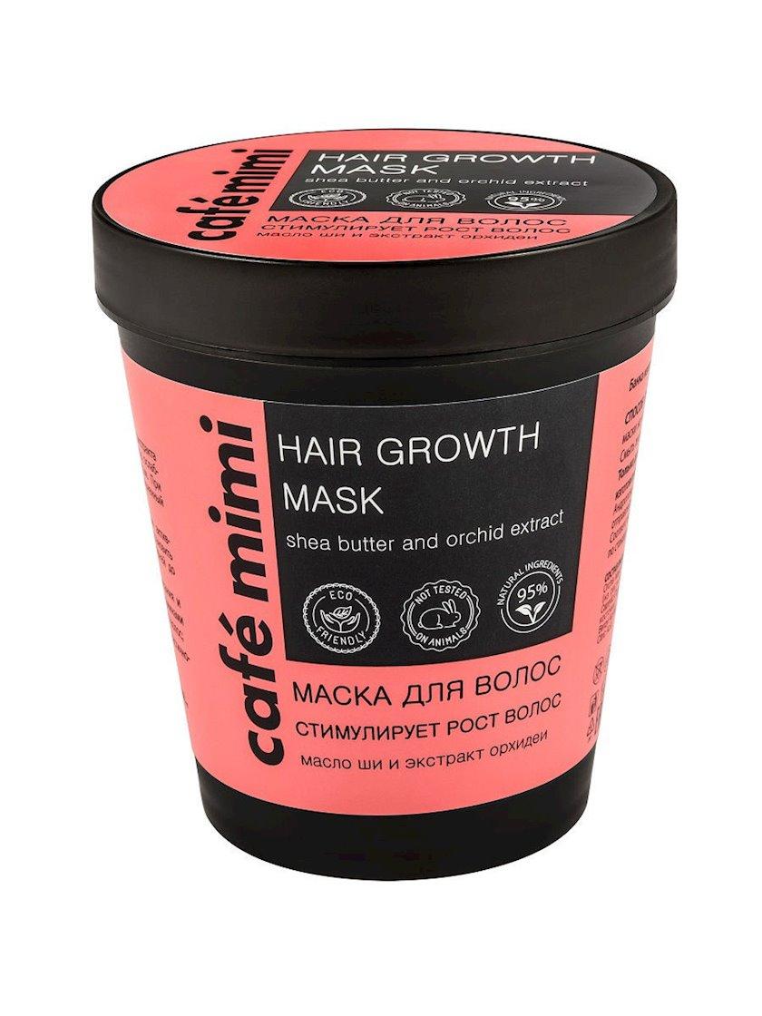 Saç üçün maska Café mimi Saç uzanması üçün