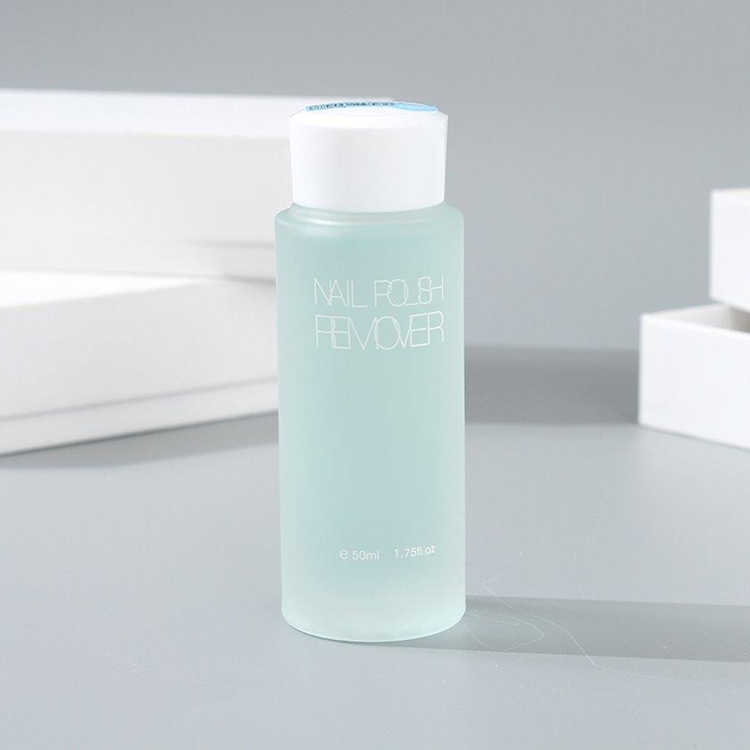 Dırnaq boyasının silinməsi üçün vasitə Ximivogue Fresh Style Nail Polish Remover Blueberry Scent 50 ml