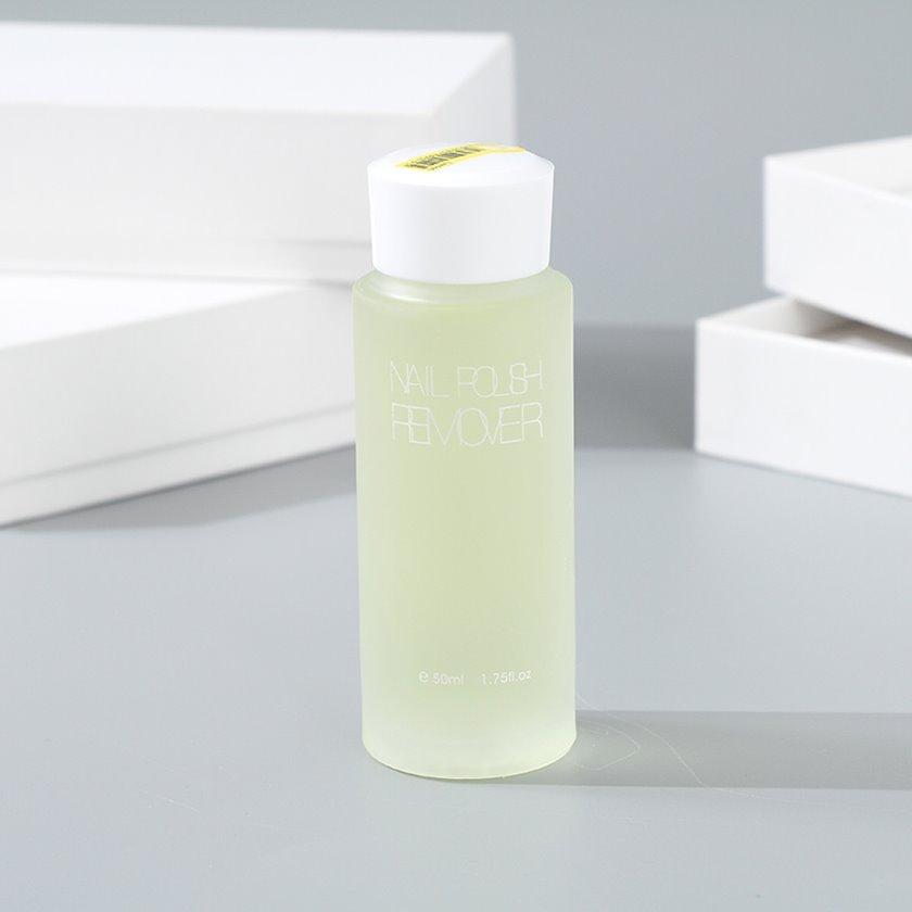 Dırnaq boyasının silinməsi üçün vasitə Ximivogue Fresh Style Nail Polish Remover Lemon Scent 50 ml