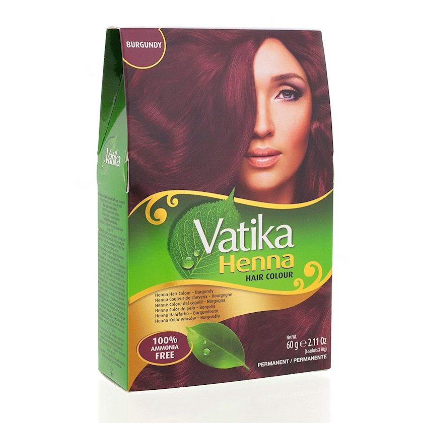 Saç xınası Vatika Henna Burgundy 60 qr