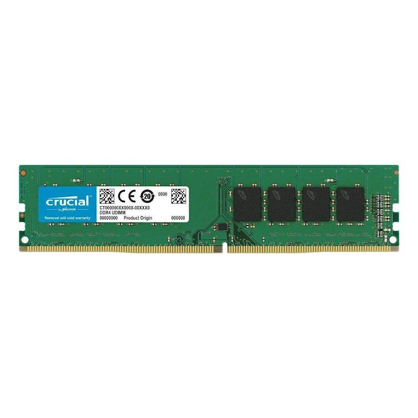 Operativ yaddaş Crucial 4GB DDR4-2666 UDIMM 2400MHz