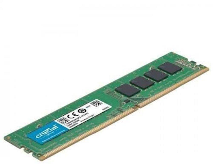 Operativ yaddaş Crucial 8GB DDR4-2666 UDIMM 2666MHz