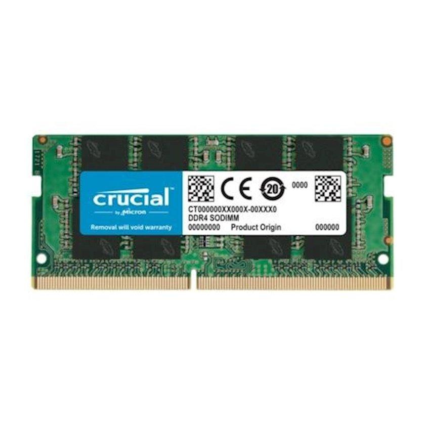 Operativ yaddaş Crucial 8GB DDR4-2666 SODIMM 2666MHz