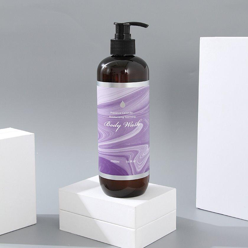 Duş üçün gel Ximivogue Provence Lavender Moisturizing Soothing Body Wash 500 ml